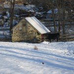 Winter Scene, Yellow Springs Rd, Michael Groman