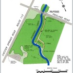Map of the new Pickering Creek Trail